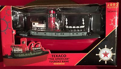 "2002 Texaco ""The American"" Tugboat Bank 3rd In Series Millennium Edition"
