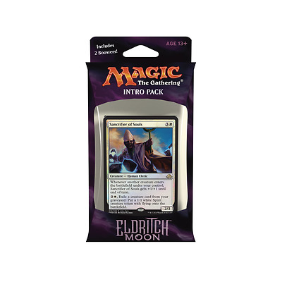 Magic The Gathering - Eldritch Moon Intro Pack - Unlikely Alliances (White) NEW