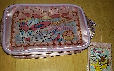 Pokemon Center Feelinara Sylveon Kosmetiktasche