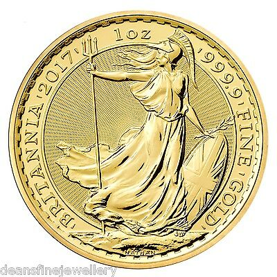 2017 Gold Britannia One Ounce Coin