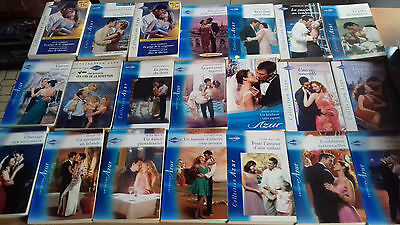 HARLEQUINS  collection AZUR +  LOT DE 33 livres de poche
