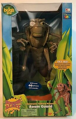 A Bugs Life Hopper Talking Action Figure NIB Disney Pixar