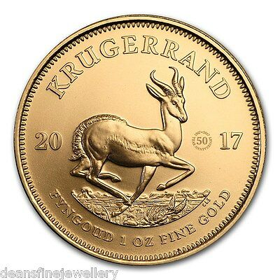 2017  1oz Gold Krugerrand 50th Anniversary Coin*