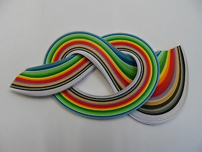 Quilling Paper 2mm -  Winter  colours