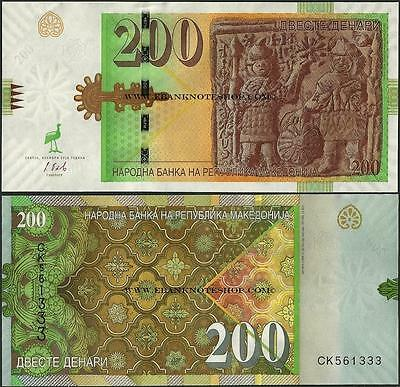 Macedonia,PNew,200 Denari,2016 ,Uncirculated @ EBS