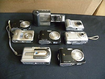 Camera lot ( canon , nikon , sony   samsung, fuji film,ge