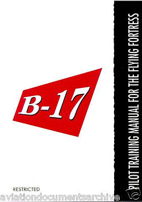 Boeing B-17 Flying Fortress Manuals in DVD- Free Shipping