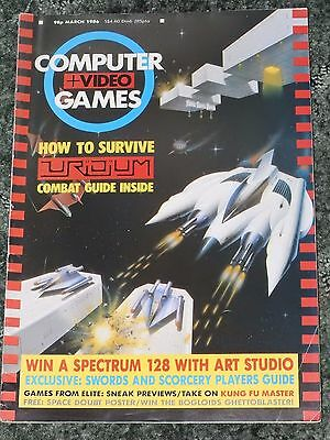 Computer and Video Games Magazine C&VG March 1986 (no poster)