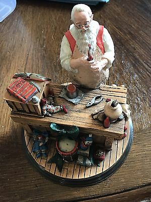 Santa's Workshop-The Rockwell Heirloom Santa Collection Limited Edition