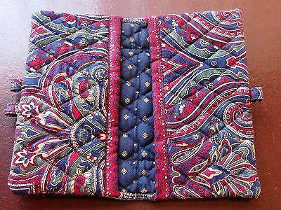 Vera Bradley Checkbook Cover with Pen Holders