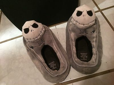 Nightmare Before Christmas Jack Coffin Slippers