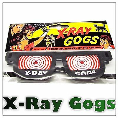 X-Ray Gogs Goggles/ Glasses/ Specs Adult Funny Costume Accessory