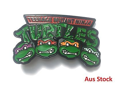 Teenage Mutant Ninja Turtles TMNT Metal Belt Buckle