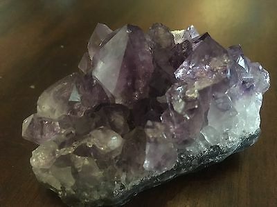 Natural Crystal Amethyst Cluster ~ Reiki, Chakra A16