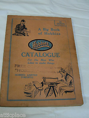 Vintage Hobbies Catalog-1930s