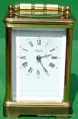 L'epee Vintage French Grande Corniche 8 Day Carriage Clock
