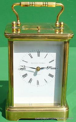 Matthew Norman 1751A Grande Corniche Striking Repeater Carriage Clock