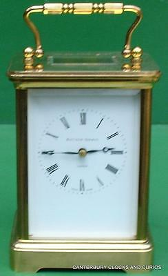 Matthew Norman 1752 Swiss Grande Corniche 8 Day Carriage Clock