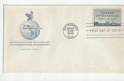 US FDC Scott #928 United Nations  Cacheted