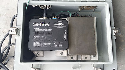 City Theatrical 5620 SHoW DMX 3 Channel 10A Dimmer &  Power Supply Case ,Cable
