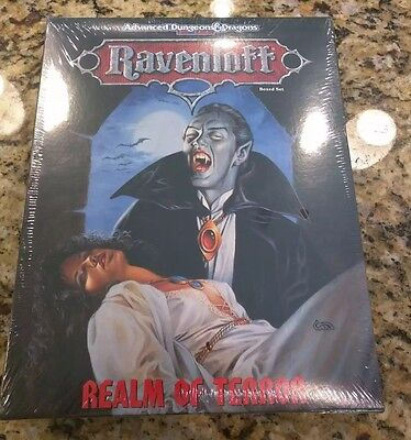 Ravenloft - Realm of Terror - 1053 - AD&D - NEW in SHRINK WRAP!