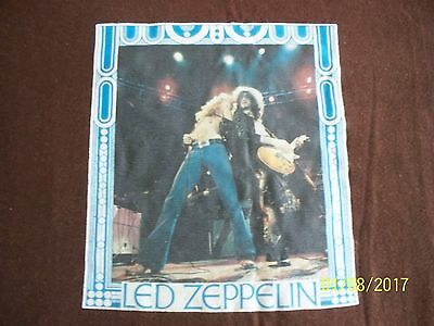 VTG 70's Led Zeppelin Iron On Print XL t-shirt AWESOME! Plant Page