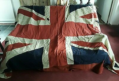 Very LargeVintage WW2 Era Panel Stitched British  Union Jack Flag