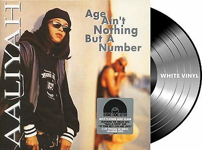 2Lp Vinilo Aaliyah-Age Ain't Nothing But A Number,limited,numbered,reissue,white