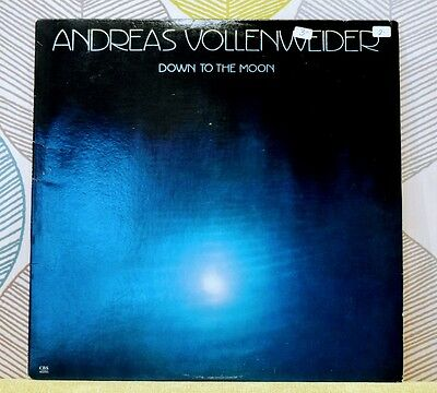ANDREAS VOLLENWEIDER - Down To The Moon [Vinyl LP,1986] USA Import FM 42255 *EXC