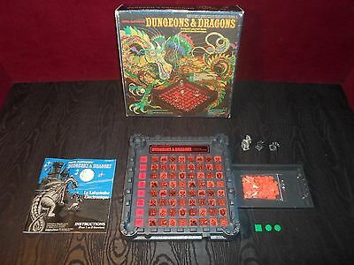 1980 Dungeons and Dragons Computer Labyrinth Game by Mattel Electronics Missing