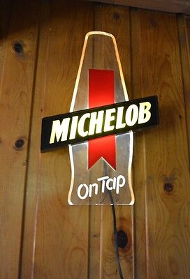 Michelob On Tap beer lighted bar sign
