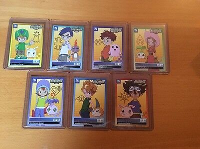 Digimon Fox Kids Introductory Series 1   Promo Set Bandai 1999 #1-7