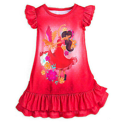 NWT Disney Store Princess Elena of Avalor Nightgown Girl 4,5/6,7/8,9/10
