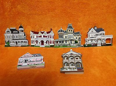 Lot of 6 Sheila's Collectables House and Mansions