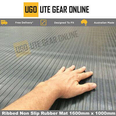 Rubber Ute Van Tray Trailer Floor Non Slip Mat 1830mm wide Matting sold by meter