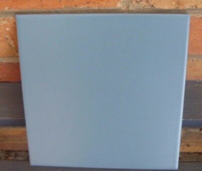 48 Wall Tiles Ceramic Blue Grey Matte Finish 200 x 200 mm Made in Italy