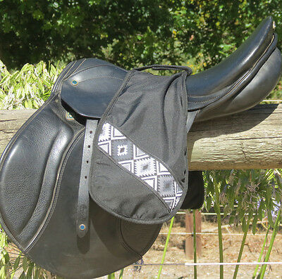 Horse Saddle Accessories Stirrup covers for English Stirrups BLACK