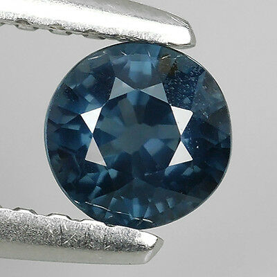 0.52 Ct Unheated Stunning Quality Natural Blue Spinel Round Cut Loose Gemstones