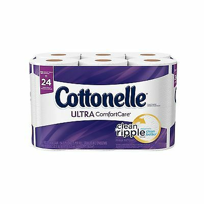 Cottonelle Ultra Comfort Care Toilet Paper 12 Pack 12 count