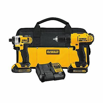 DEWALT 20-Volt Max Compact Lithium-Ion Cordless Combo Drill Kit Combo kit