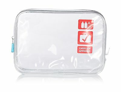 Flight 001 Carry On Clear Quart Bag One Size