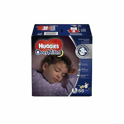 Huggies Overnite Diapers Step 5 Giga Pack 66-Count Step 5, 66-Count