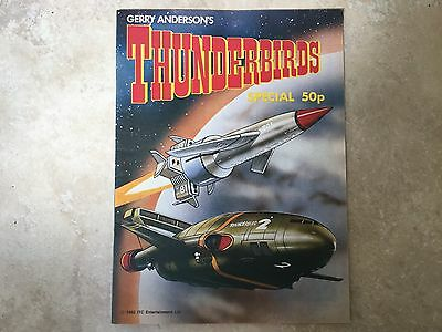 Thunderbirds Holiday Special 1982 Gerry Anderson strips TV Comic