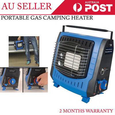 Camper Companion Portable Butane Gas Heater Camping Tent Winter Use Warm Outdoor