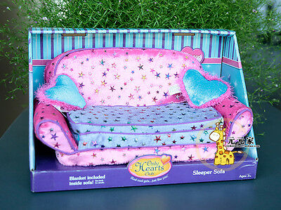 Only Hearts Club SLEEPER SOFA COUCH FURNITURE NEW RARE PINK & PURPLE