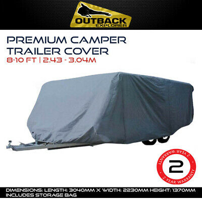 Outback Explorer 8-10 ft Premium Camper Trailer Cover 2.43 -  3.04m