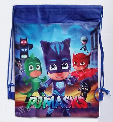 Pj Masks Drawsting Bag. Library Bag Back 2 School Or Stocking Fillers