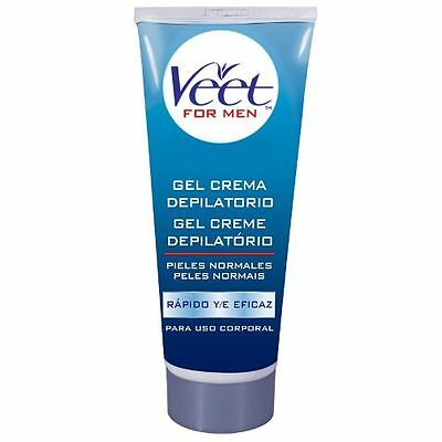 Veet For Men Gel Crema Depilatoria Hombre Pieles Normales Depilacion
