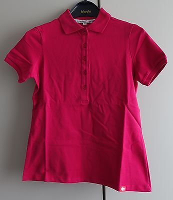 Swatch Polo Shirt Women - pink - NEW UNWORN - promotion item