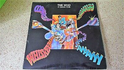 The Who - A Quick One Mono 1st Press 1966 LP Record 593 002